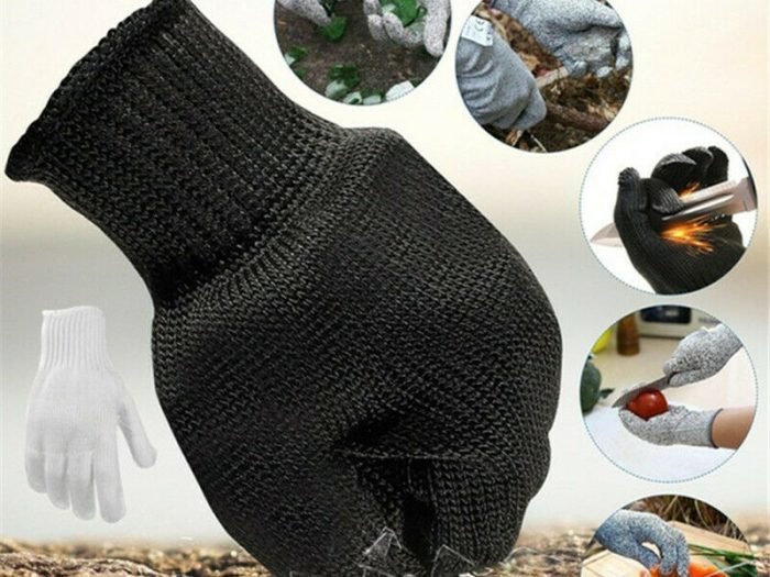 Устойчивые к порезам рабочие защитные перчатки